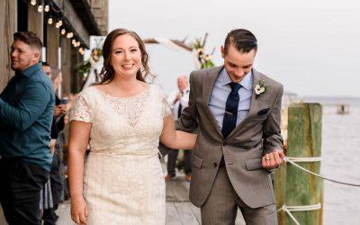 Intimate Lucy Creek Dockhouse Wedding