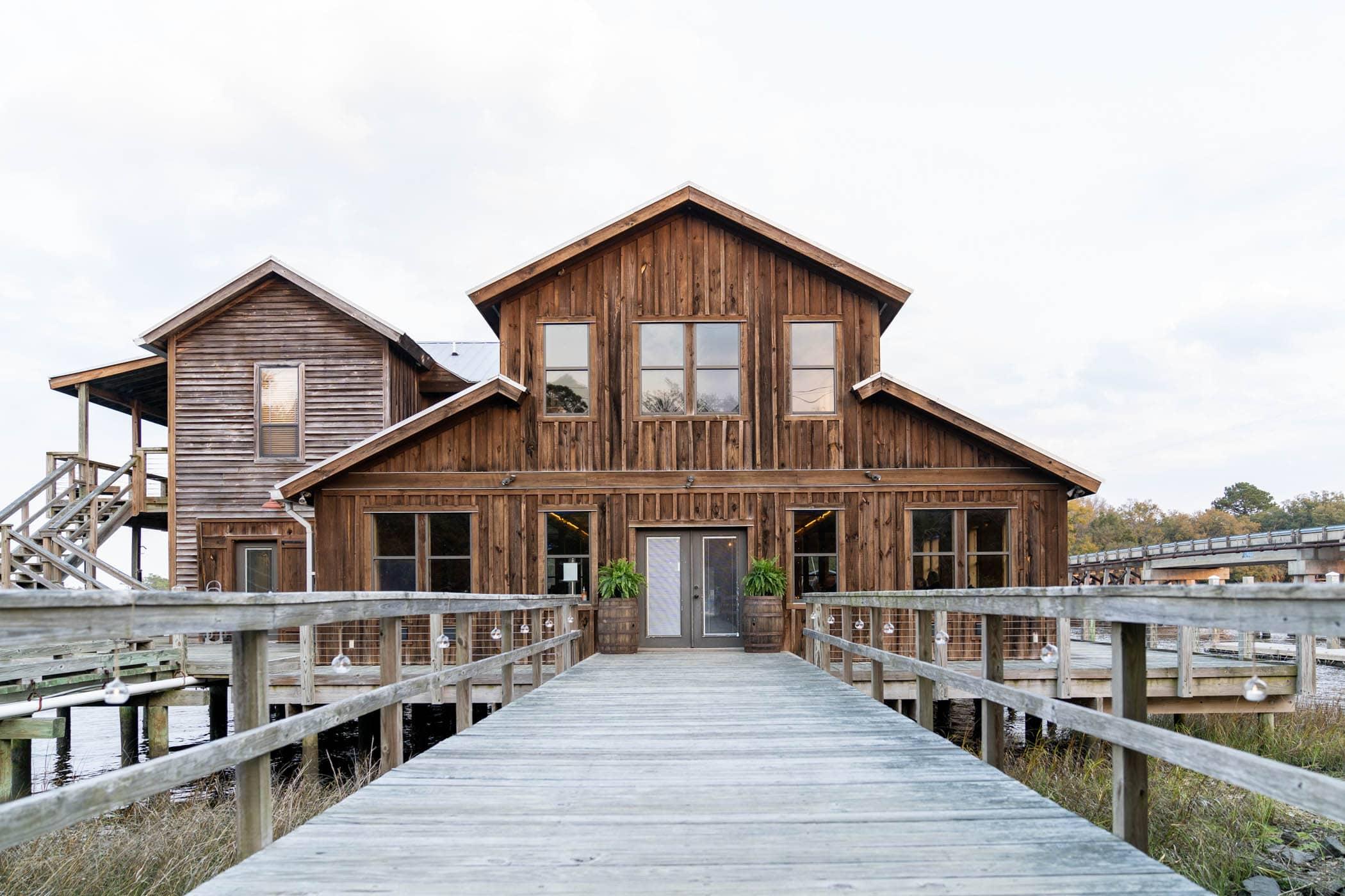 Wedding Venue, Beaufort South Carolina, Lucy Creek Dockhouse