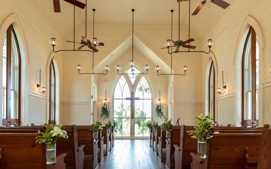 Interior, May River Chapel, Palmetto Bluff