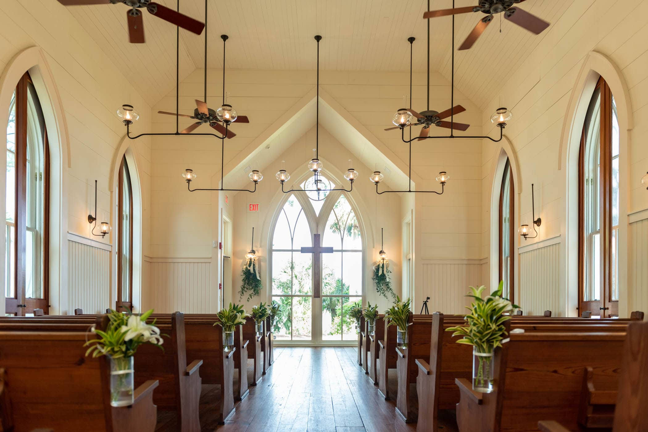 Interior May River Chapel Palmetto Bluff