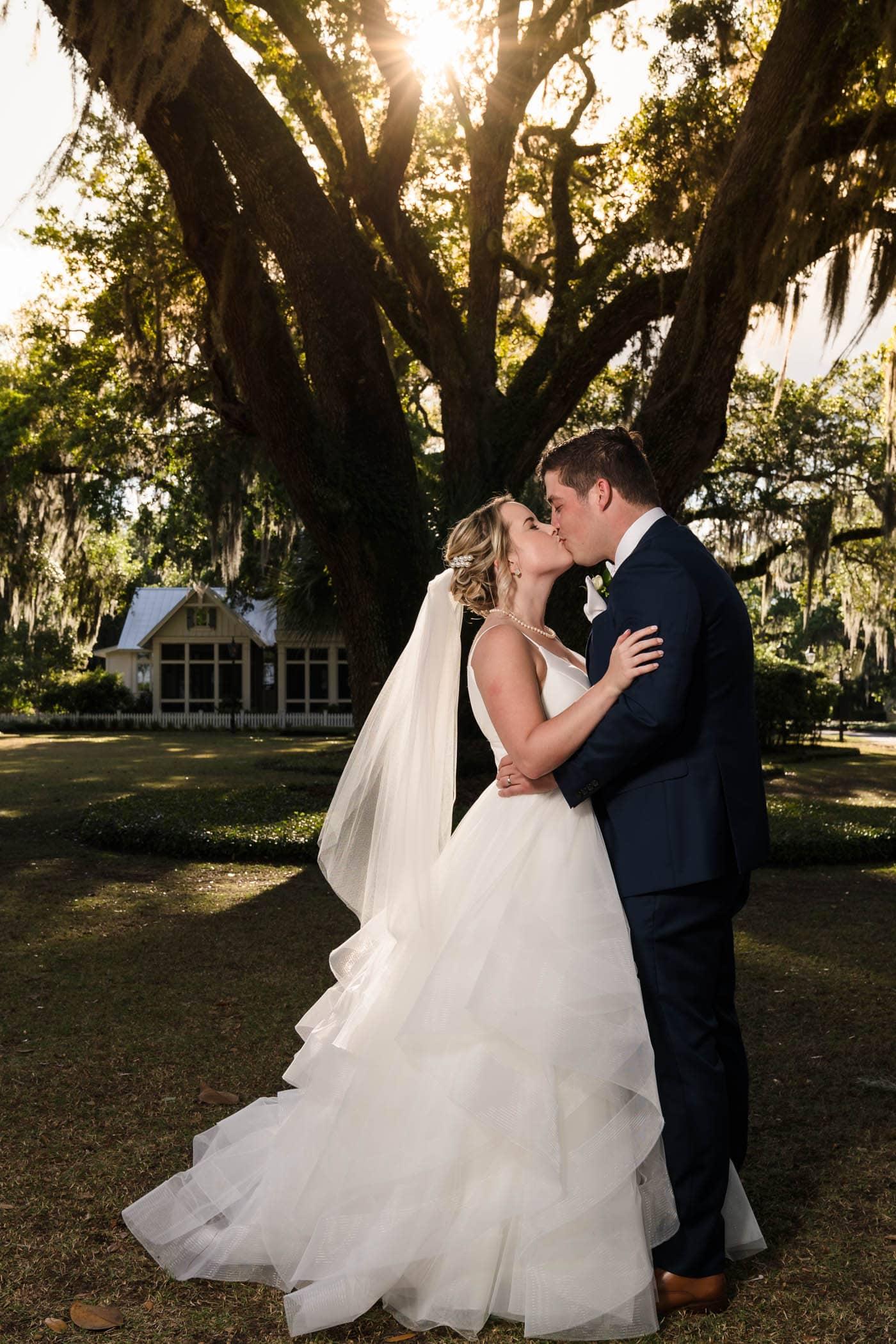 Bride and Groom portraits, Palmetto Bluff