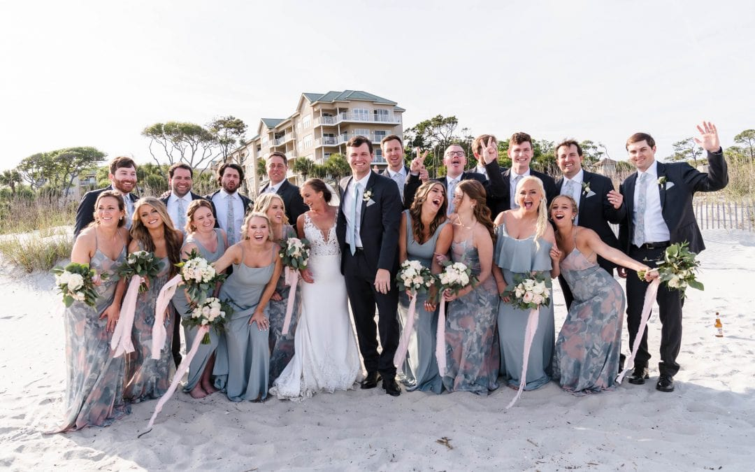 Omni Hilton Head Wedding | The Shore House | Blake and Stephany